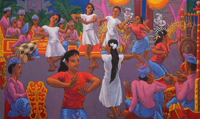 Répétition de danse à Ubud 3