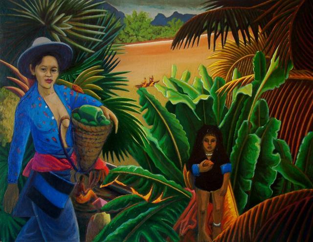 Laos - Bord du Mékong - 1
