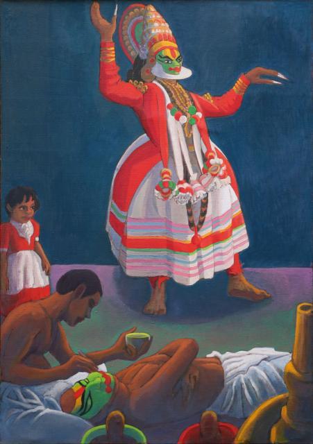 Danseur de Katakali - 3