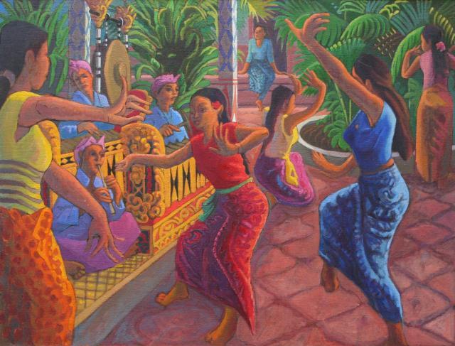 Répétition de danse à Ubud 1